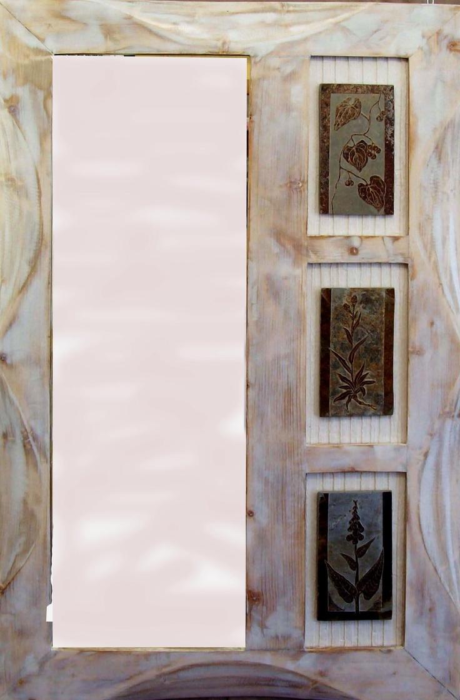 Blanco decapado vertical  110 x 80  Talla directa