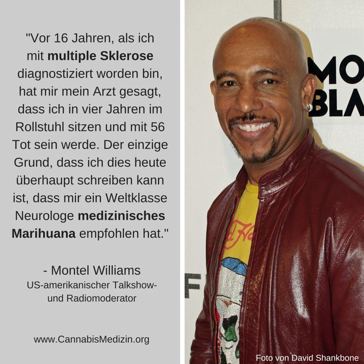Laut Montel Williams hat medizinisches Marihuana ihm das Leben gerettet.