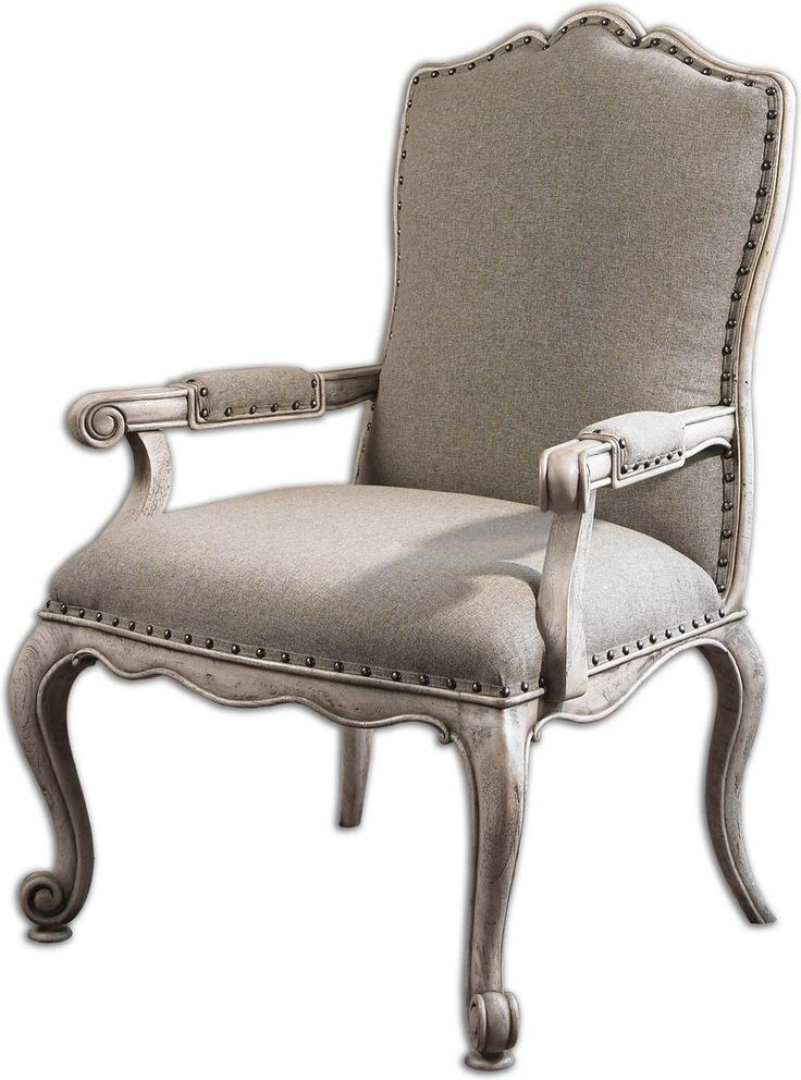 Uttermost Jonas Antiqued Armchair, Visit AllAccentChairs.com To See More