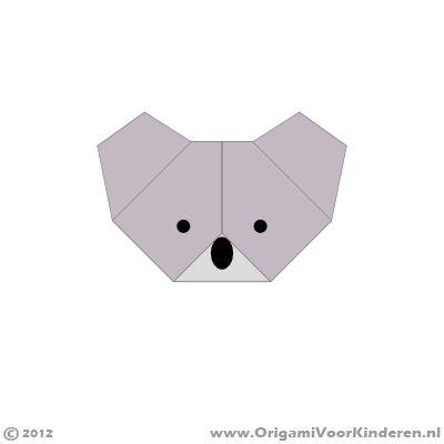 Origami instructies stap 10