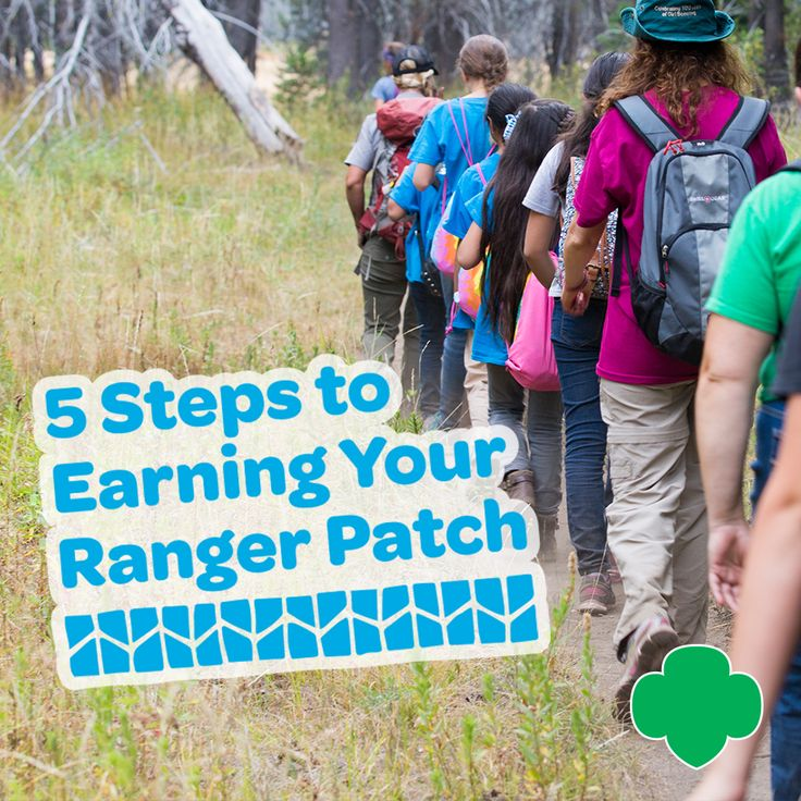 5 Steps to Earning Your Ranger Patch. #GirlScouts #gsoutdoors