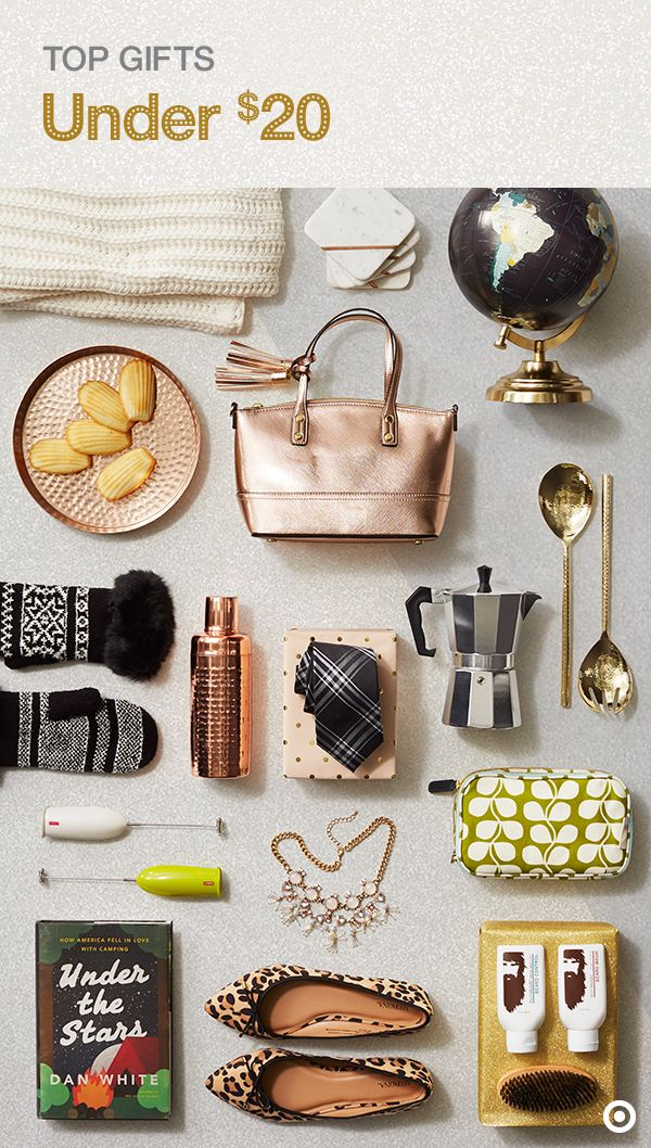 Having a budget and sticking to it during Christmas shopping is a must. Find amazing gifts under $20 for everyone on your list, like the trendsetter, the entertainer or the adventure-seeker. From glitzy accessories, cozy throws, faux-fur everything, hammered copper barware and books, you're sure to find something they'll love. Check out The Wonderlist Gift Guide to find the perfect gifts for your favorite people.