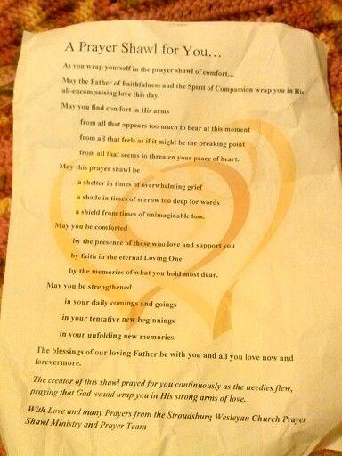 A prayer shawl | sayings | Pinterest | A prayer, Prayer ...