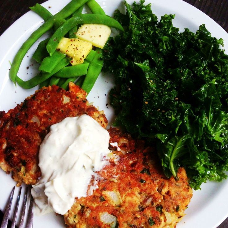 These are the best Salmon patties ever! Super easy and even non-fish eaters love them!