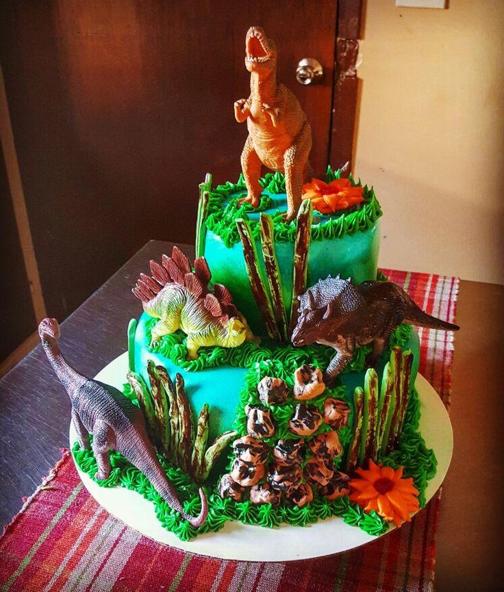 Dinosaur Birthday Cake Decorating Ideas : 25+ Best Ideas about Dinosaur Cake on Pinterest Dino ...