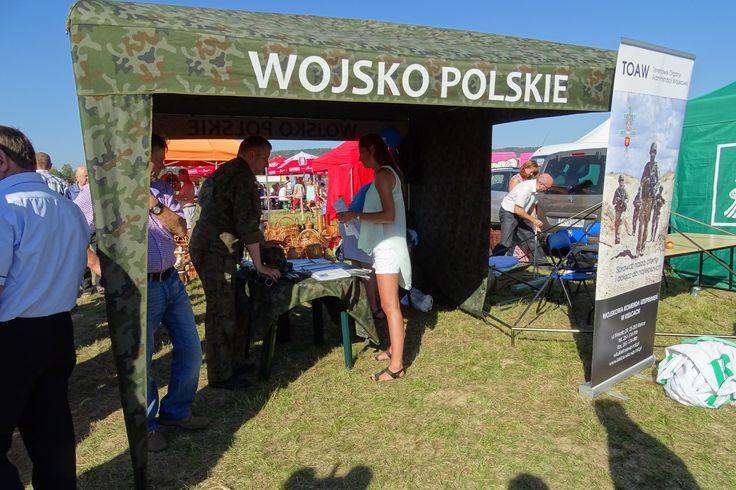 Stoiska Wojska Polskiego na Dożynkach w Masłowie