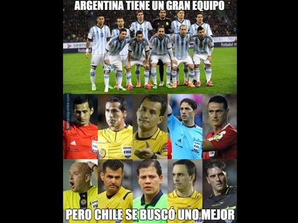 Chile vs. Argentina: los mejores memes de la final de la Copa América 2015.