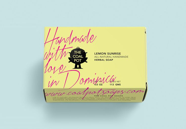 Packaging design by Port Clarendon for handcrafted soap