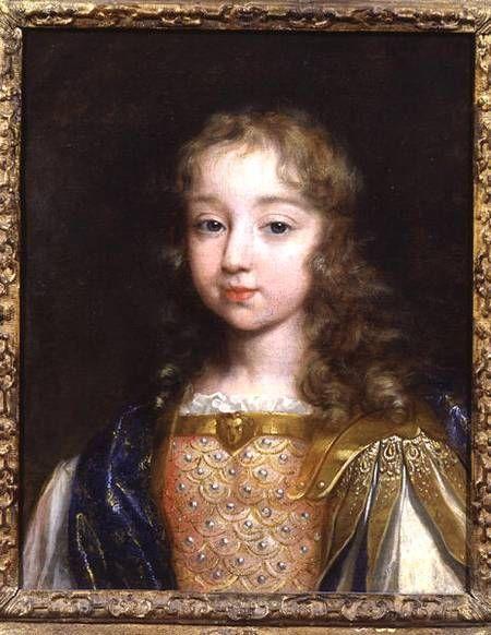 Louis XIV. Enfant il s'amusait à l'hôtel de Villeroy à deux pas de la Cremerie de Paris, Rue Des Halles.