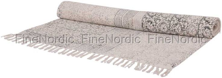 Rug with French Print 120 x 180 cm (16677-00), from Chic Antique.