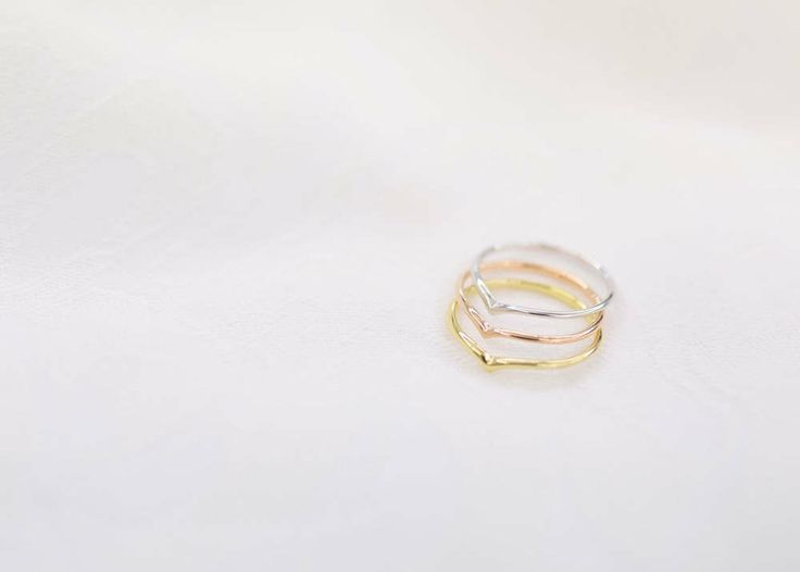 'Chevron' ring