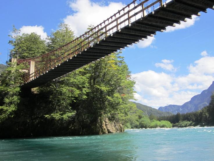 Futaleufu River, Patagonia, Chile.