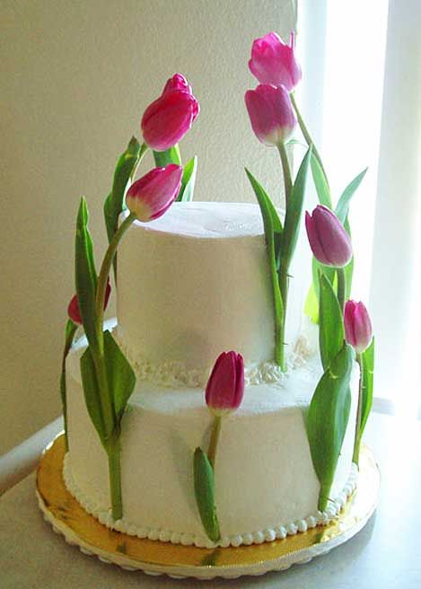 25 best ideas about tulip cake on pinterest icing flowers wilton tips and piping techniques. Black Bedroom Furniture Sets. Home Design Ideas