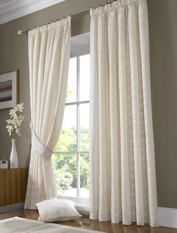 Decorating Ideas Astonishing Window Treatment For Living Room Decoration Using Cream Blind Curtain Together