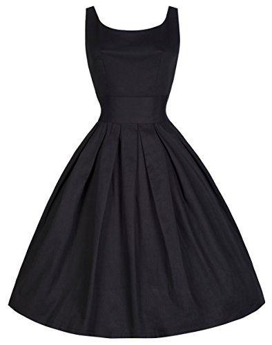 Lindy Bop 'Lana' Millésime Cinquantaines Style Élégante Robe De Soirée (50, Noir) Lindy Bop http://www.amazon.fr/dp/B00NXYBFC2/ref=cm_sw_r_pi_dp_Ve9rub0Z9ZQMY
