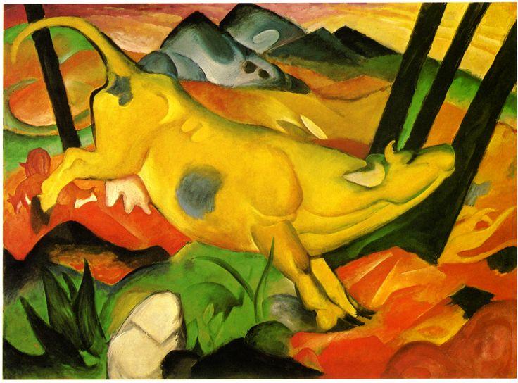 Les Fauves, Franz-marc/werke-gr/die-gelbe-kuh.jpg