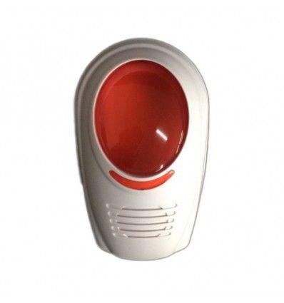 Sirène Flash sans Fil - Alarme sans fil GSM