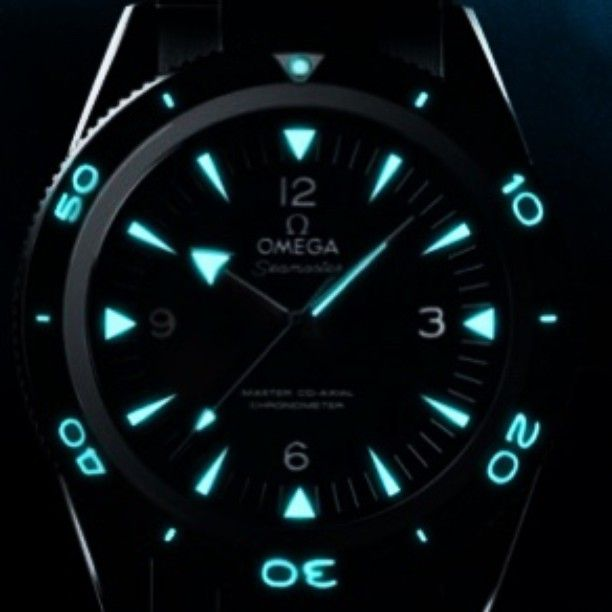 Awesome Lume shot of the Omega Seamaster Master Co Axial ...