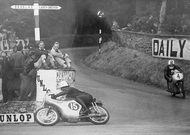 1961 Isle of Man TT Race 125cc, Sadao Shimazaki (#15)