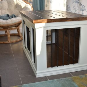 Digging this #DIY Dog Crate! It looks so good! Click thru for pics on  RYOBI Nation.