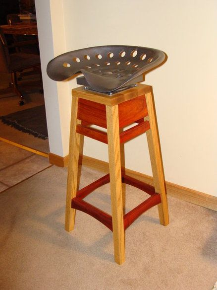 Tractor Seat Garden Stool : Best images about tractor seat on pinterest recycled