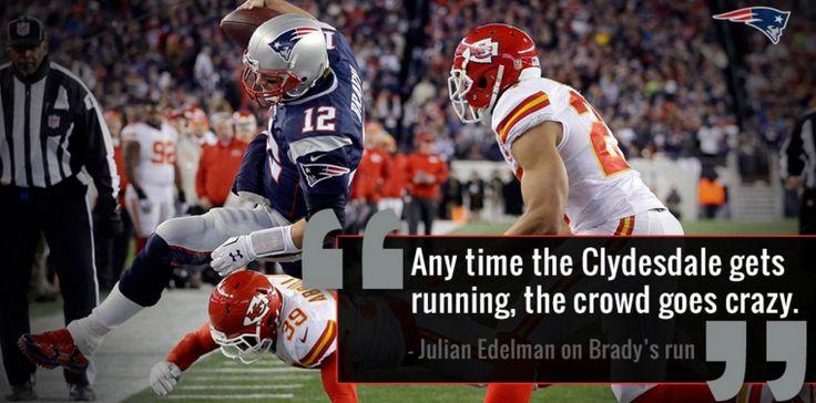 Yup #Brady #Edelman #Patriots #KCvsNE