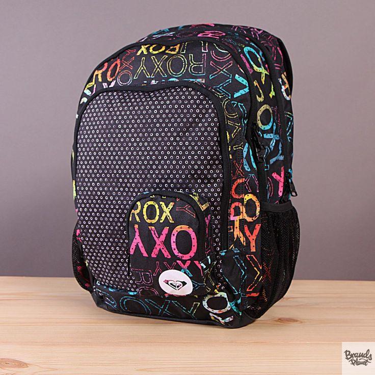 Plecak szkolny z piórnikiem Roxy Charger Waterland  / www.brandsplanet.pl / #roxy