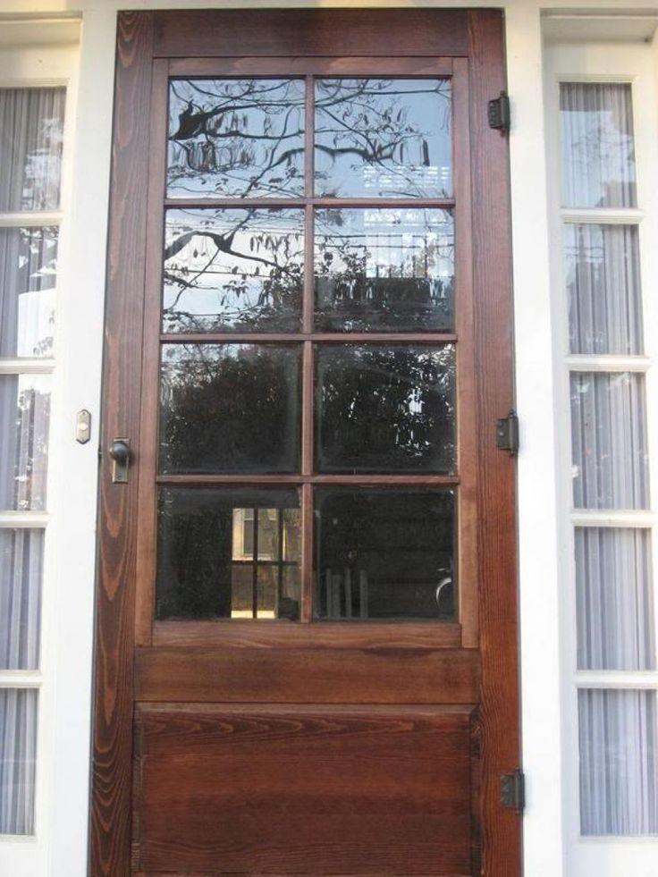 Best 25+ Wood storm doors ideas on Pinterest   Wood screen ...