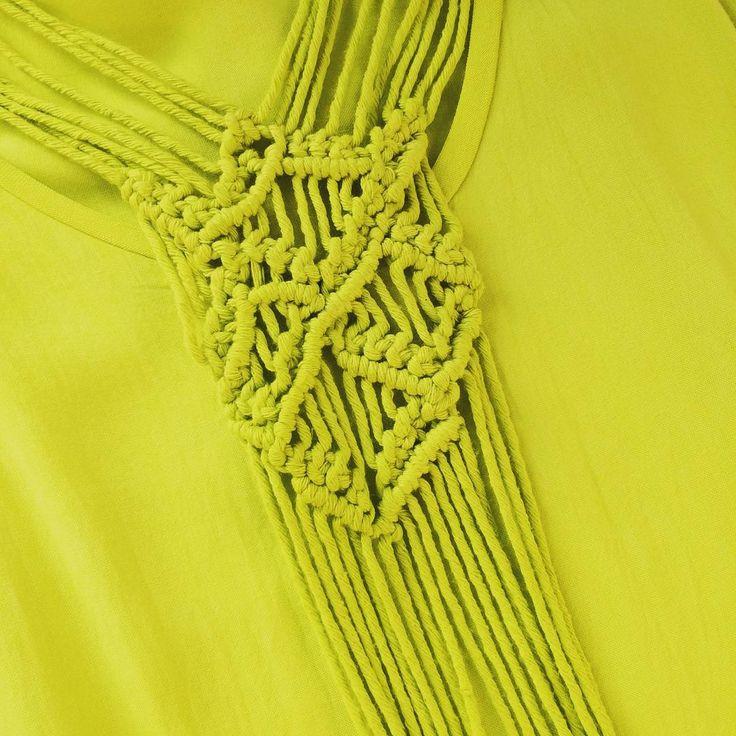 | Taking the Colombian tradition of macrame to the next level, blending our artisanal roots with luxury | #Entreaguas #WeavingArt #LaArtesaniaEsUnLujo #Handwoven #ArtPieces #Swimwear #Beachwear
