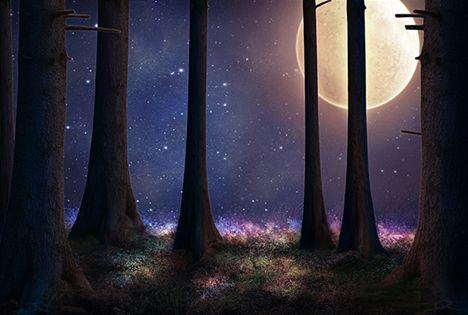 Meditera med Nära varje fullmåne!