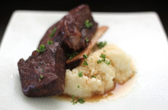 ... tender braised short ribs in an hour yes please the short cooking time