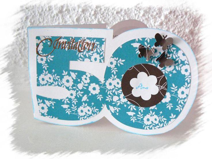 1000 images about carte invitation anniversaire on pinterest. Black Bedroom Furniture Sets. Home Design Ideas