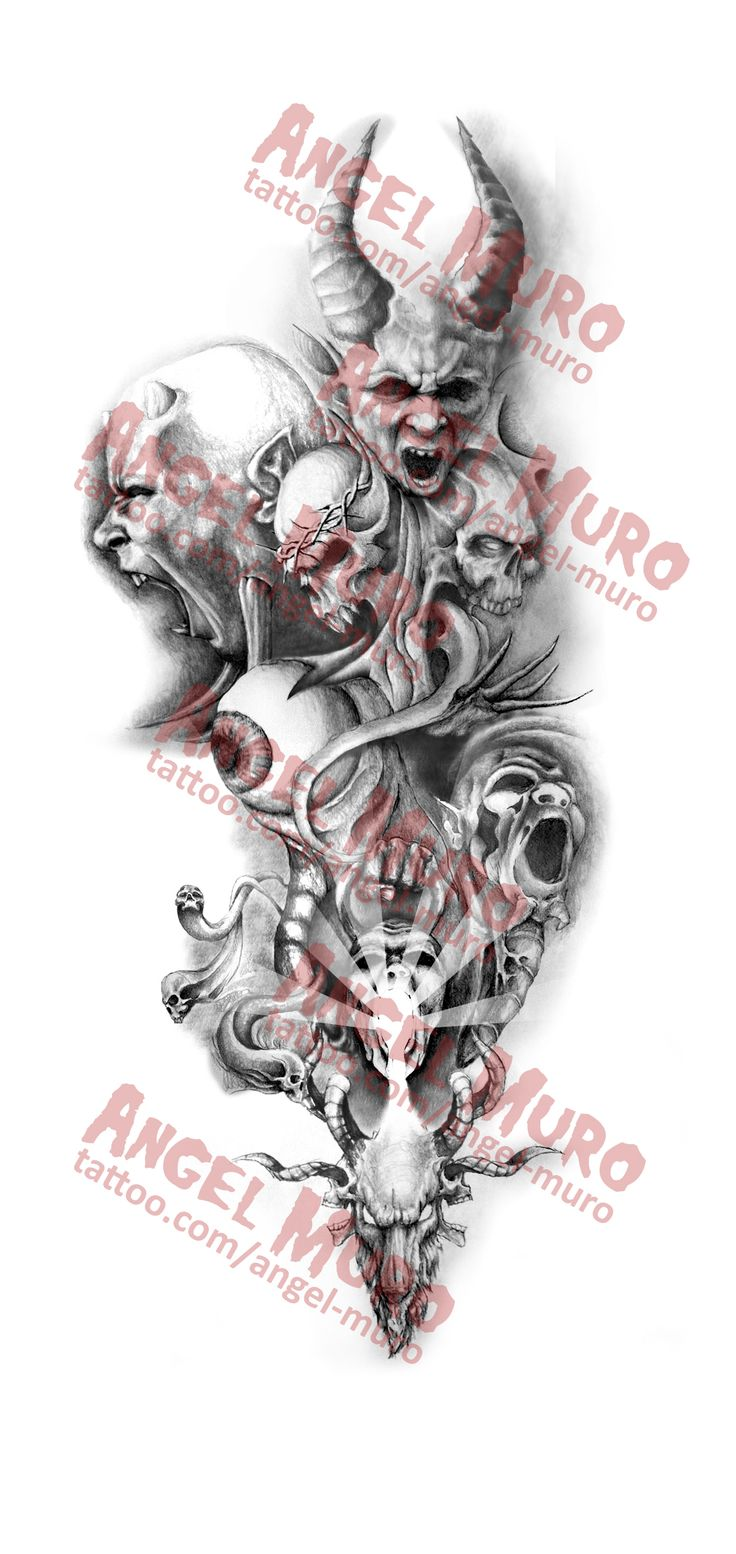 Tattoo Sleeve Design Artwork: Gallery Images And Information: Sleeve Tattoo Drawing