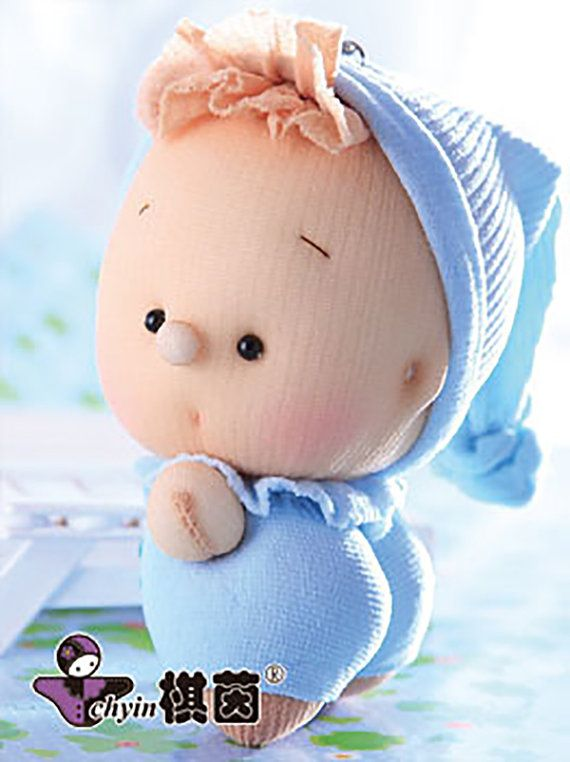 Little Boy Blue - Candy socks doll