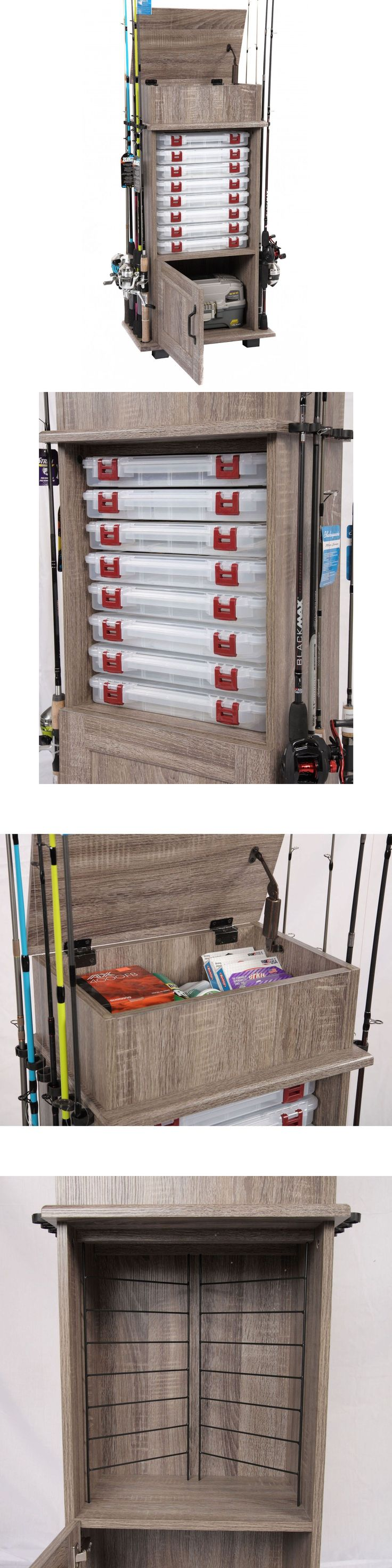 25 best ideas about fishing storage on pinterest used for Fishing tackle storage
