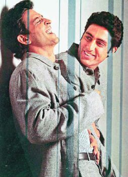 Abhishek Bachchan v/s Hrithik Roshan Once upon a time, the boys who hail from the Hindi film industry's most renowned families were chaddi-buddies. Today, their friendship has been reduced to socializing at formal-dos. Abhishek and Hrithik almost started their careers at the same time. While one got instant fame and craze, the other was criticized to the core for no-show of 'spark'. The difference only got wider as time went by. While Hrithik came to be known for his smart, s