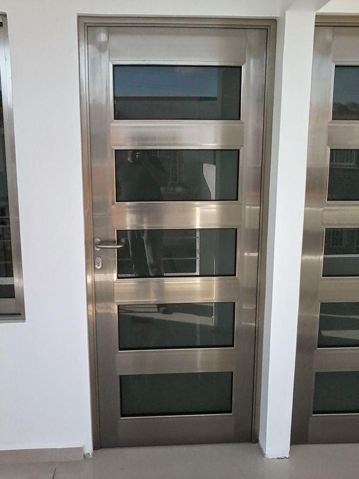 Best 25 puertas aluminio ideas on pinterest ventanas - Puertas de vidrio ...