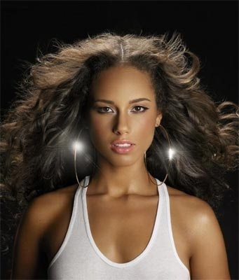 Alicia Keys- high school valedictorian, scholarships to Columbia, talented and creative musician...