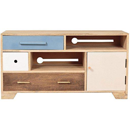 Jennifer Wooden TV Cabinet