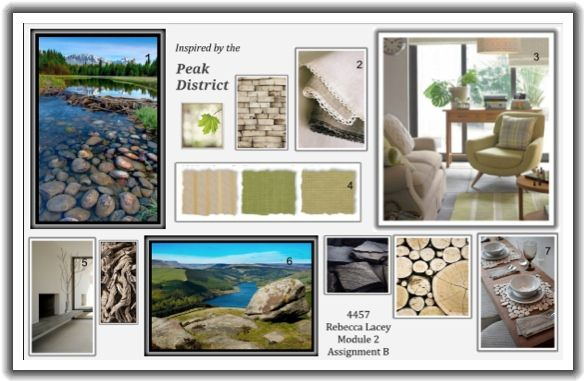 Nature Inspired Concept Board Neutral Inspiration Texture Organic