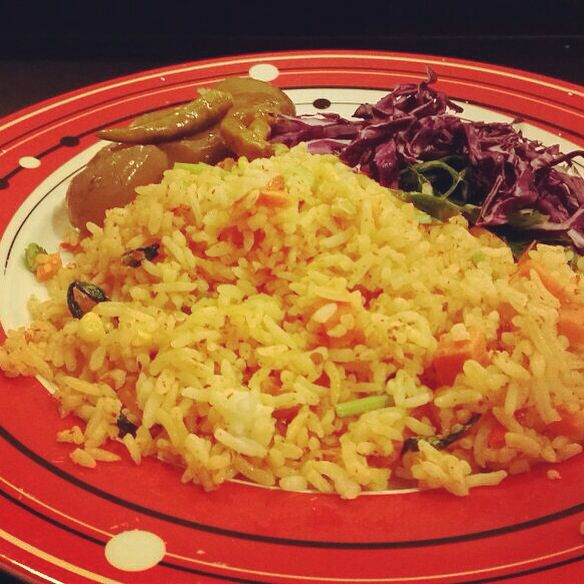 Spicy Nasi Goreng , Indonesian Food