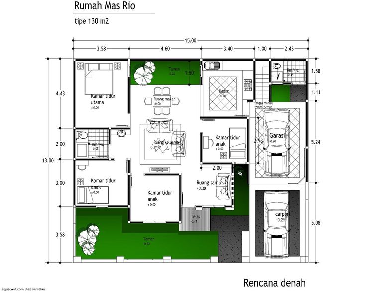 221 best rumah images on pinterest modern houses house design and desain rumah tipe 110 1 lantai 2 malvernweather Choice Image