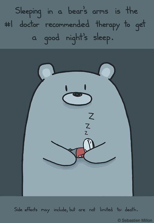 Sleep Therapy. amo a los osos