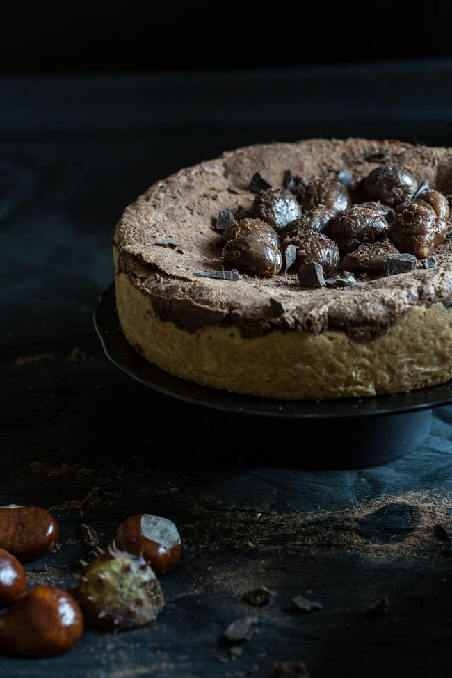 This delicious chocolate chestnut cake is not only a great recipe but is used here as an example of how to shoot in the dark