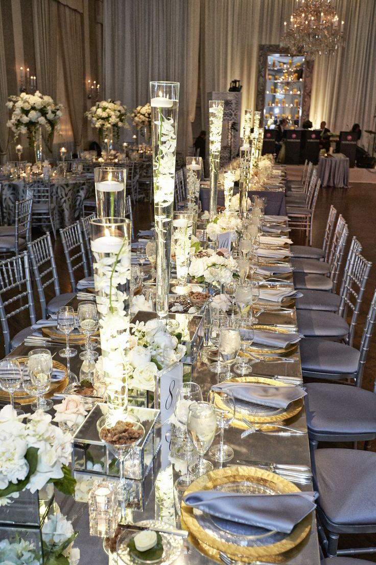 Elegant Ballroom Ceremony Reception In Chicago Illinois
