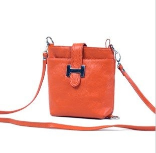 ladies genuine leather shoulder bag, high quality messenger bag