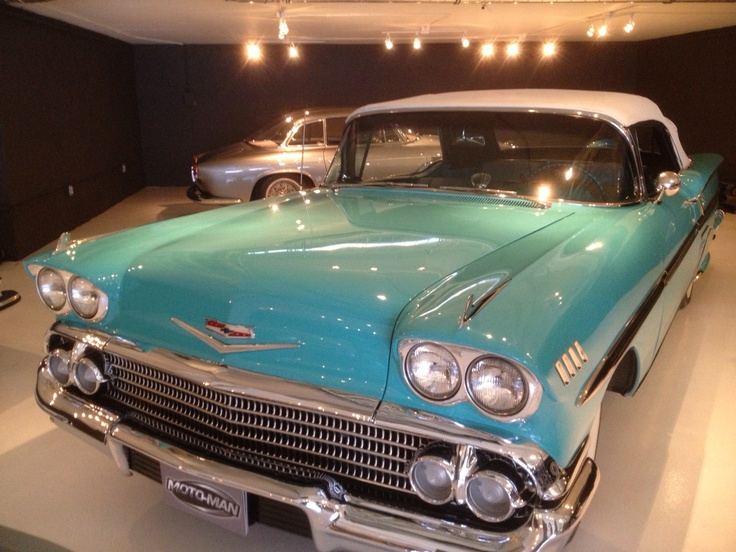 The 1953 @Chevrolet #Impala made a guest appearance at the 2014 Impala launch in San Diego, CA