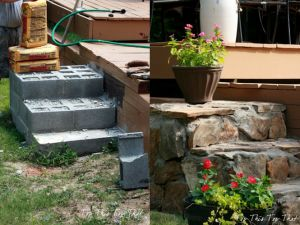 The Homestead Survival | How To Build Stone Steps DIY Project | http://thehomesteadsurvival.com