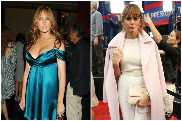 Melania Trump finally put some clothes on | New York Post