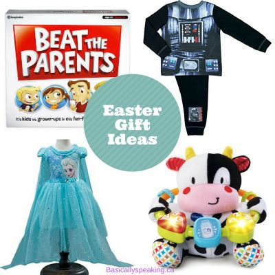 A great list of easter gift ideas for parents who don't want to just give chocolate for Easter. #Easter #Spring #Kids #Frozen #StarWars #Babies #Toddlers #Family